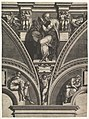 The Persian Sibyl; from the series of Prophets and Sibyls in the Sistine Chapel MET DP821563.jpg