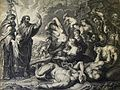 The Phillip Medhurst Picture Torah 565. The Israelites bitten by fiery serpents. Numbers cap 21 vv 6-9. after Rubens.jpg