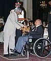 The President, Dr. A.P.J. Abdul Kalam presenting Padma Vibhushan to Prof. Balu Sankaran, at an Investiture-II Ceremony at Rashtrapati Bhavan in New Delhi on April 05, 2007.jpg