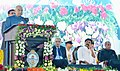 The President, Shri Ram Nath Kovind addressing at the inauguration of Centenary Annual Conference of Indian Economic Association (IEA), at Guntur, in Andhra Pradesh.jpg