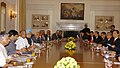 The Prime Minister, Dr. Manmohan Singh, with the visiting Prime Minister of Vietnam, Mr. Nguyen Tan Dung at the delegation level talks, in Delhi on July 06, 2007.jpg