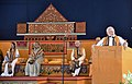 The Prime Minister, Shri Narendra Modi addressing at the Convocation of Visva-Bharati University, at Santi Niketan, in West Bengal.JPG