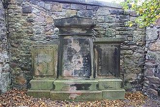 George Romanes - The Romanes grave, Greyfriars Kirkyard in Edinburgh