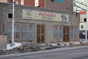 Satriale's Pork Store - The building in 2007
