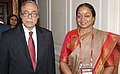 The Speaker, Lok Sabha, Smt. Meira Kumar meets the Speaker of the Parliament of Bangladesh, Mr. Md. Abdul Hamid Advocate, on the sidelines of the Fifth Conference of Association of SAARC Speakers and Parliamentarians.jpg