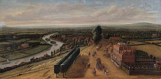 Museum of Richmond - One of the museum's highlights: The Terrace and View from Richmond Hill, Surrey by Leonard Knyff