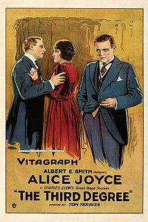 <i>The Third Degree</i> (1919 film) 1919 American movie directed by Tom Terriss