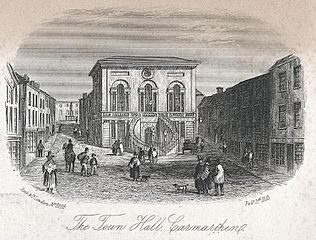 The Town Hall, Carmarthen
