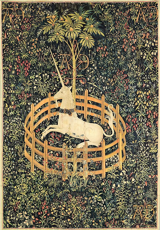 The Unicorn in Captivity (from the Unicorn Tapestries) – 467642