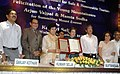 The Union Minister for Tourism & Housing and Urban Poverty Alleviation, Kum. Selja unveiling the Code of Conduct for Safe & Honourable Tourism, in New Delhi on July 01, 2010.jpg