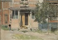 The Veranda. From A Home (26 watercolours) (Carl Larsson) - Nationalmuseum - 24203.tif