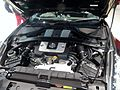 The engine room of Nissan FAIRLADY Z (CBA-Z34) at Nissan Global Headquarters Gallery.jpg