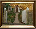 The entrance to our garden, by Anna Ancher, with frame.jpg
