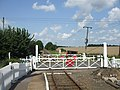 The level crossing at Kimberley Park station - geograph.org.uk - 1434055.jpg