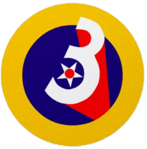 Page Field Army Airfield - Image: Third Air Force Emblem World War II