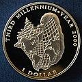 Third Millennium Year 2000 1 Dollar b.jpg