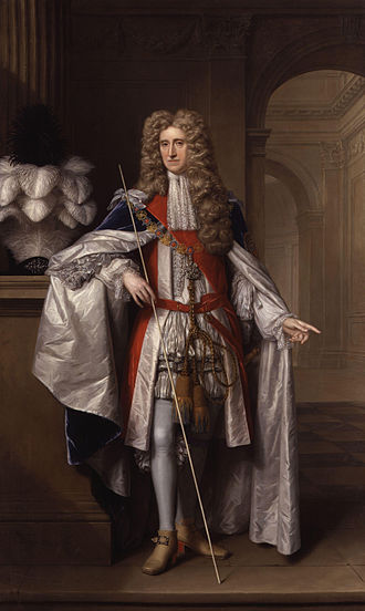 Thomas Osborne, 1st Duke of Leeds - The Duke of Leeds, 1704.