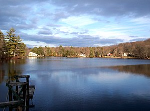 Thompson Pond (Massachusetts) - From the 4-H Campsite