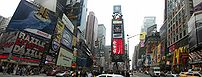 Times Square Panorama - New York City - Novemb...