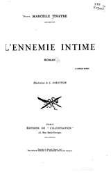 Marcelle Chasteau-Tinayre: L'Ennemie intime