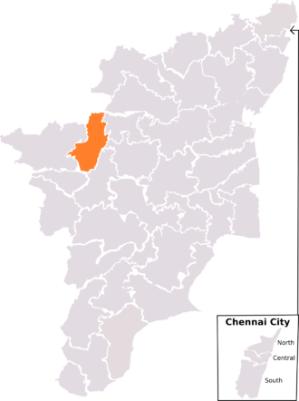 Tiruppur (Lok Sabha constituency) - Tiruppur constituency, post-2008 delimitation