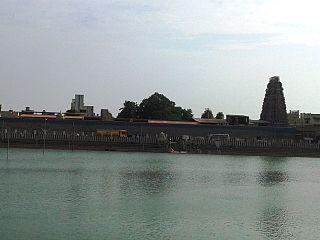 Tiruvallur Suburb in Tamil Nadu, India