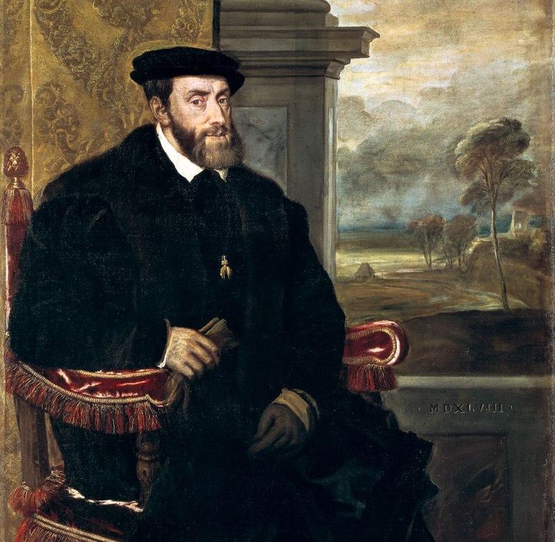 Titian - Portrait of Charles V Seated - WGA22964 (cropped).jpg