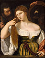 Titian and workshop - Girl Before the Mirror - Google Art Project.jpg