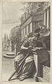 """Title of the secont part of Optique de Portraiture et peinture -...-- """"La Déesee des Arts lisant avec attention le traité d'optiqe de Grégoire Huret -...- MET DP836300.jpg"""
