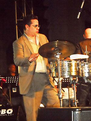 Tito Puente Jr. - Tito Puente Jr. playing at the Panama Jazz Festival 2012