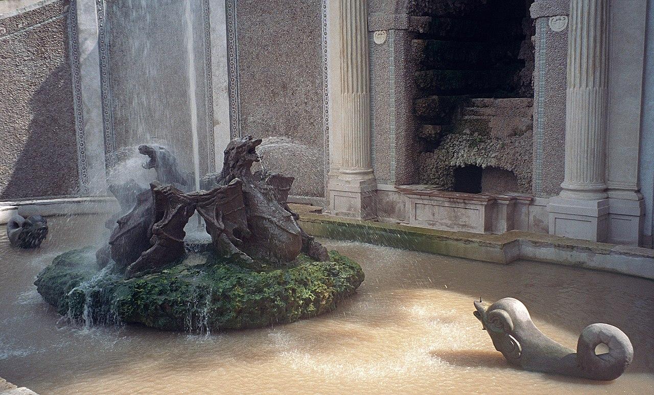 Fontana dei draghi Fontanna smoków