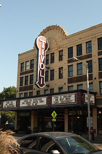 Delmar Loop - The Tivoli Theatre is a three screen art house theater on the Delmar Loop