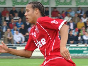 Tjaronn Chery - Chery pictured playing in a match whilst at Twente.