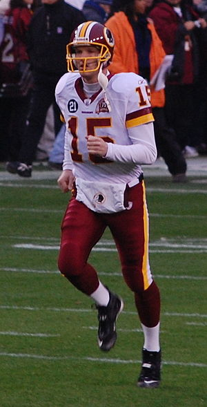 Todd Collins (quarterback) - Collins with the Redskins in 2007