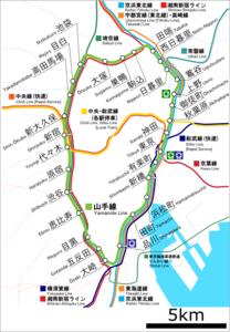 山手線's relation image