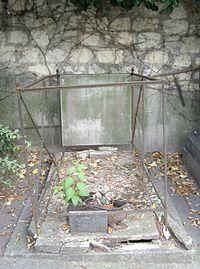 Tombe Henri Paillard & Émile Goudeau, Cimetière Saint-Vincent, Paris.jpg