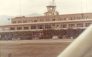 Toncontín International Airport - Toncontín in the 1980s