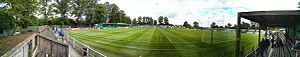 Hitchin Town F.C. - Image: Top Field Hitchin Town FC Panorama 01
