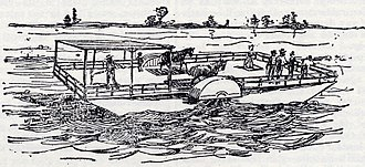 Toronto Island ferries - In 1843, the first Peninsula Packet, was pressed into service to transport people to the islands.