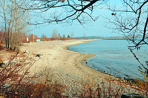 Toronto Islands - Beach on Ward's Island