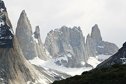 Torres del Paine from Lake Pehoé.jpg