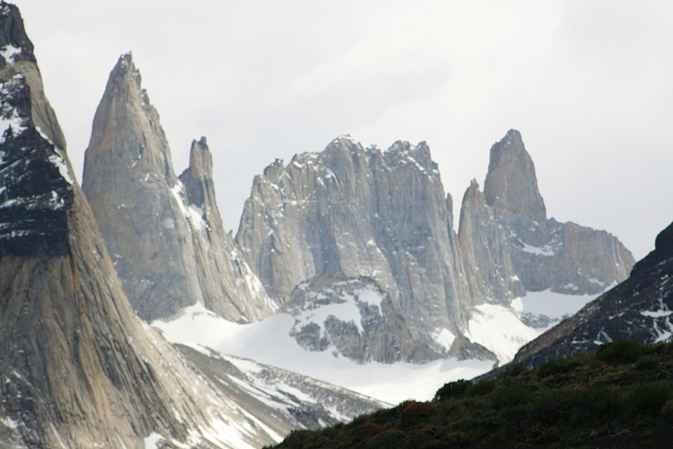 Torres del Paine from Lake Pehoé