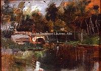 Toulouse-Lautrec - AU BORD DE LA RIVIERE, 1880, MTL.16.jpg