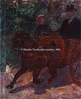 Toulouse-Lautrec - TONNEAU ATTELE D'UN COB, 1900, MTL.211.jpg
