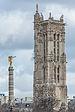 Tour Saint-Jacques and Fontaine du Palmier, South-East View 140207 1.jpg
