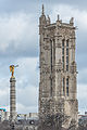 Tour Saint-Jacques and Fontaine du Palmier, South-East View 140207 1.jpg
