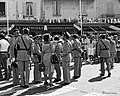 Tournage Le Gendarme et les Extra-terrestres 1978.jpg