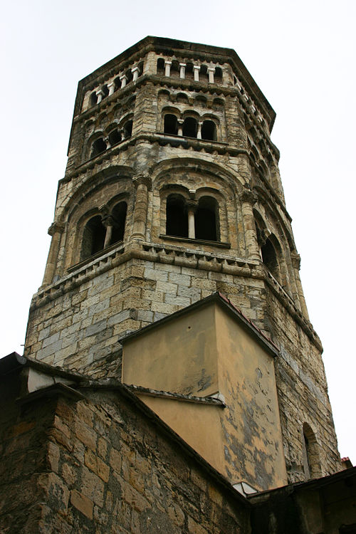 View of the bell tower.