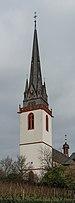 Tower of St. Markus, Erbach im Rheingau, Southwest view 20150123 5.jpg