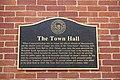 Town Hall plaque - Sturbridge, Massachusetts - DSC05982.jpg